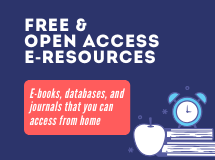 E-resources (Open Access and Temporary Access)