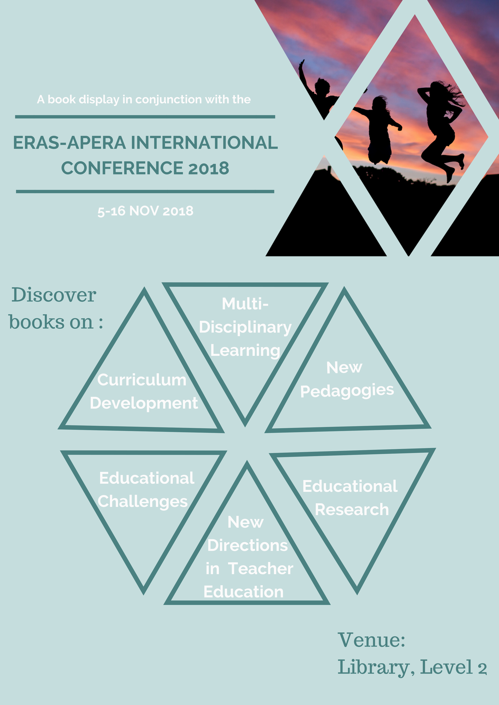 Book display for ERAS-APERA International Conference 2018
