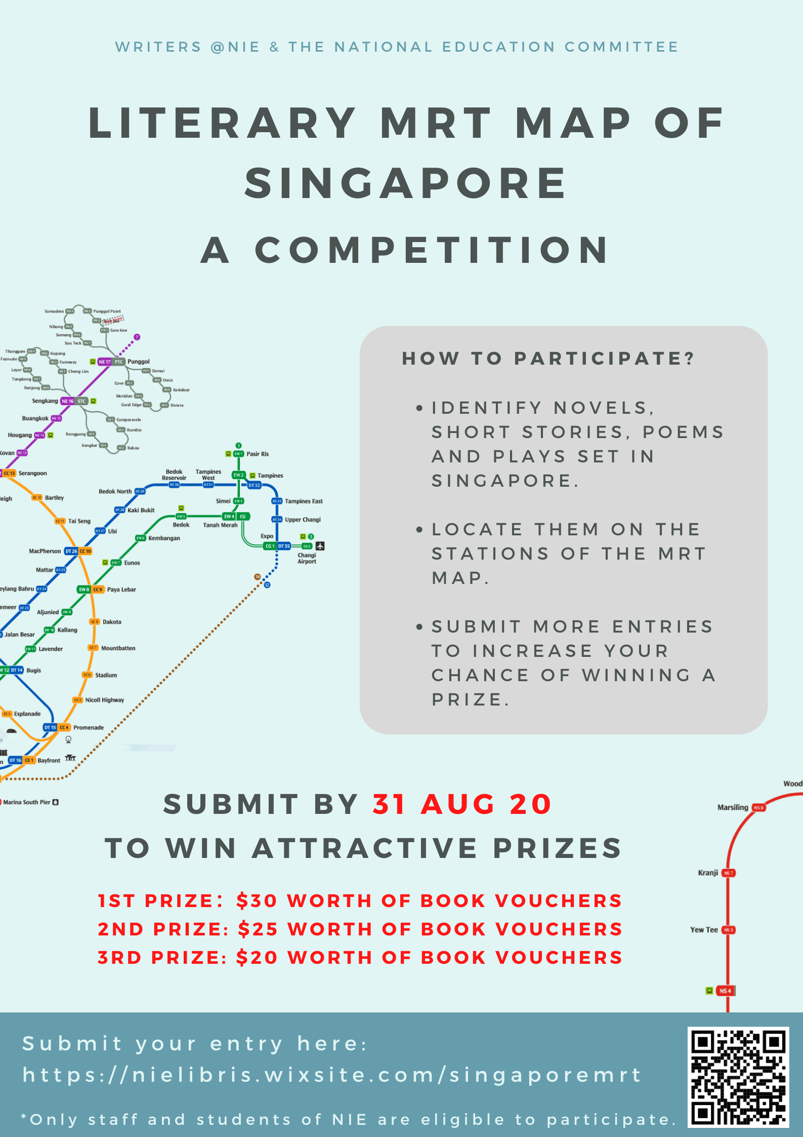Join the Literary Map of Singapore Competition