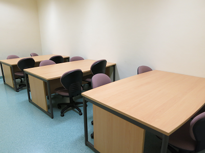 Group discussion room